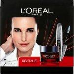 Loréal Revitalift Laser Renew: Omlazující krém Revitalift Laser Renew 50 ml + Řasenka pro efekt umělých řas False Lash Wings 7 ml - odstín Black dárková sada