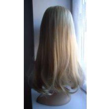 TMT Paruka přirozený vzhled dlouhá zvlněná 60 cm - Blond