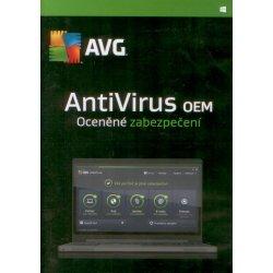 AVG AntiVirus 2016 OEM, 1 lic. 1 rok SN DVD (AVCEO12DCZS001)