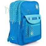GABOL batoh modrá kytička