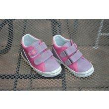 Jonap 015m celoroční obuv dívčí fialová-růžová