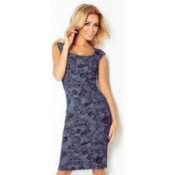 0e083ab627d6 Numoco dámské elegantní společenské šaty bez rukávu Rose 53-26 tmavě modrá