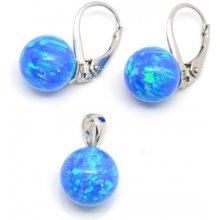 74c68286e Aranys Přívěsek australský opál modrý 8 mm 150552 10887