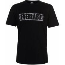 Everlast Camo T Shirt Mens Black