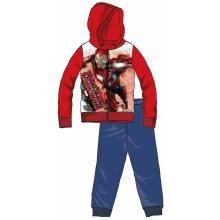 Disney by Arnetta Chlapecká tepláková souprava Captain America červeno-modrá