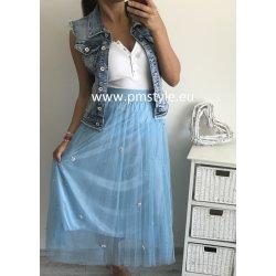 3b84b1383de PMstyle luxusní dámská tylová sukně světle růžová alternativy ...