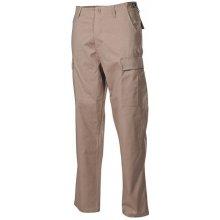 MFH BDU pánské kalhoty Rip-Stop khaki