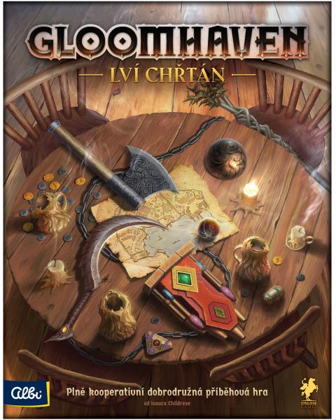 Recenze Albi Gloomhaven: Lví chřtán