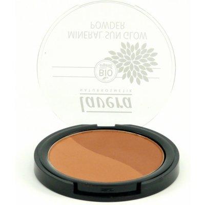 Lavera Duo Mineral Sun Glow Powder třpytivý minerální bronzující pudr 1 sahara 9 g