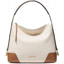 8a0f7993f Michael Kors Crosby kabelka signature shoulder bag vanilla