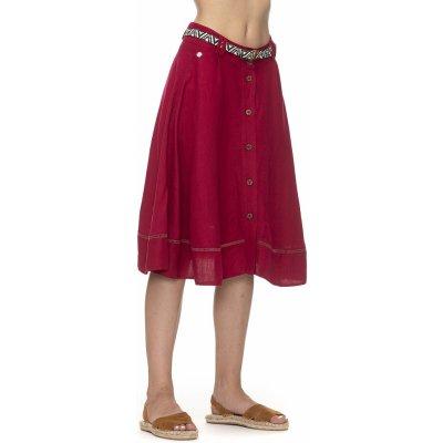 Ragwear Lomea Organic 4000 sukně red