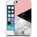 Pouzdro Head Case Apple iPhone SE, 5 a 5S Mramor mix