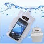 Pouzdro BINGO voděodolné s poutkem iPhone 5 / 5C / 5S / SE / 4 / 4S / 3G / 3GS - bílé