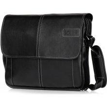 Solier kožená pánská taška S15 black