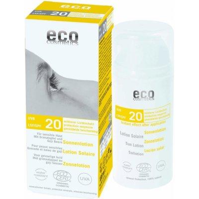 Eco Cosmetics ochranný sluneční krém SPF20 75 ml