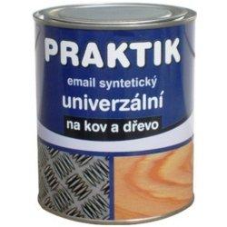 Praktik Email syntetický univerzální na kov a dřevo 0,6l 1999 černá