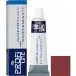 Profi Line profesionální barvy na řasy a obočí přírodní Brown 15 ml