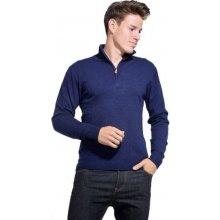 William de Faye pánský svetr modrá