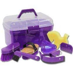 WALDHAUSEN Box s čištěním pro děti fialový Lila