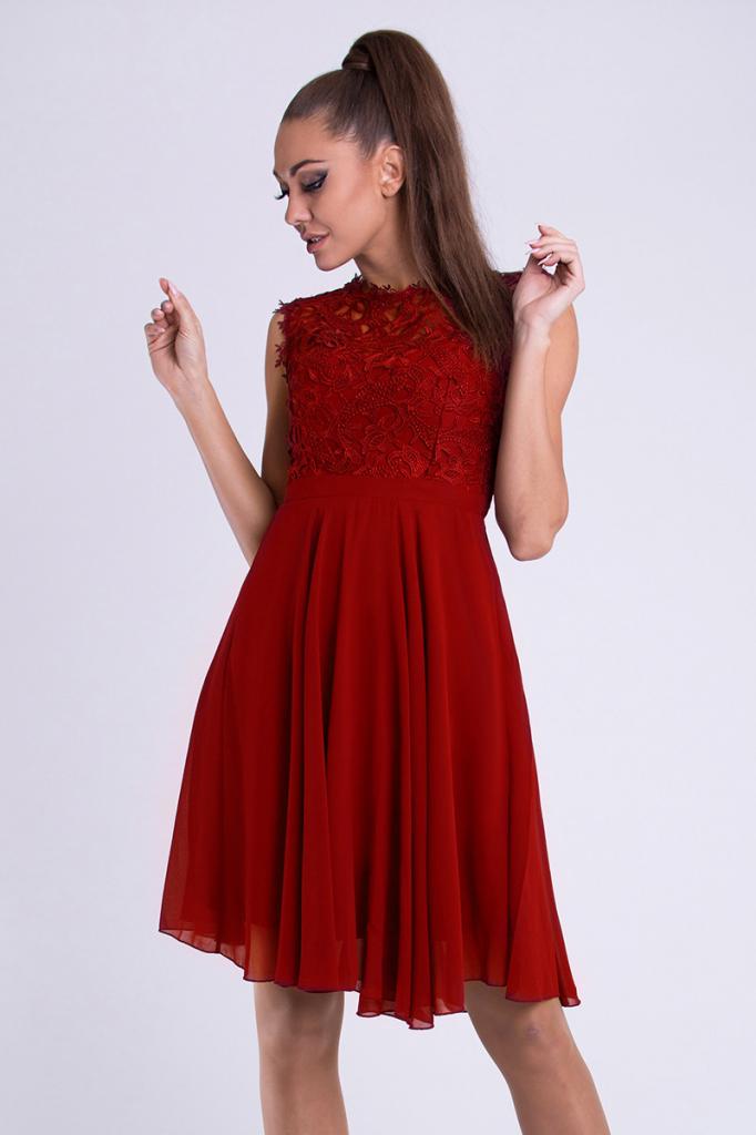 9676a2e30f0b Filtrování nabídek Eva   Lola dámské společenské plesové šaty červená -  Heureka.cz