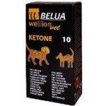 WellionVet BELUA, Ketonové testovací proužky pro psa a kočku 10 ks