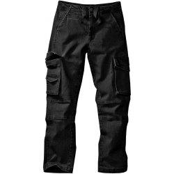 Pánské džíny Blancheporte kalhoty s kapsami černé 5eb0b67841