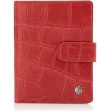 Castelijn & Beerens Dámská kožená peněženka RFID 465415 RO červená