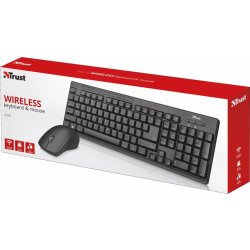 Trust Ziva Wireless Keyboard with mouse 22122