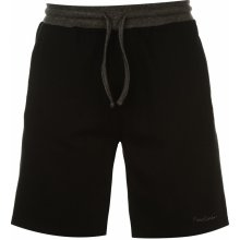 Pierre Cardin Jersey Shorts Mens Black arge