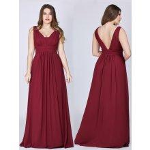 bb3dd3395c82 Ever Pretty plesové šaty elegantní 8110 vínová
