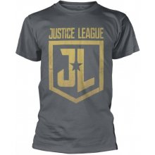 Justice League Tričko Gold Logo