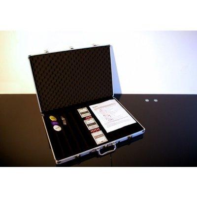 Garthen 491 Hliníkový kufr na 1000 ks žetonů