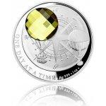 Česká mincovna Stříbrná mince CRYSTAL COIN One Day at a Time Sahara proof 31,1 g