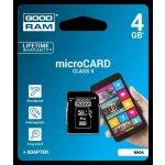 Goodram microSDHC 4GB CLASS 4 75010000