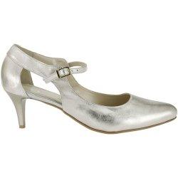 ff0626de9418 Dámská obuv Nadměrné společenské boty De Plus zlaté 9675 6111