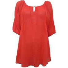 dámská oranžová košile halenka