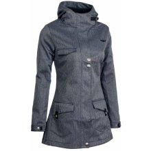Woox Zone Ladies´ Parka Blue kabát softshellový dámský