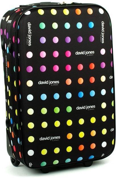 Cestovní zavazadla David Jones 1008 cestovní kufr střední 43x23x66 ... 445eb483a8