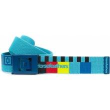 Horsefeathers pásek Colbourn - Caribbean Blue