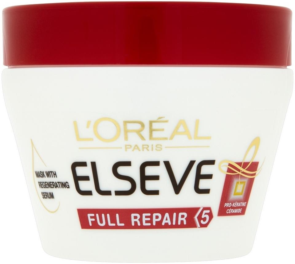 L Oréal Elséve Total Repair maska regenerační na vlasy 300 ml od 109 Kč -  Heureka.cz d81b598a2f2