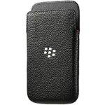 Pouzdro BlackBerry kožené Pocket Style BlackBerry Classic Černé