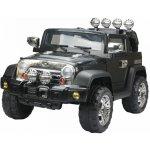 Goleto dětské elektrické auto Jeep černé