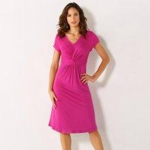 811c660b3ede Blancheporte splývavé úpletové šaty indická růžová