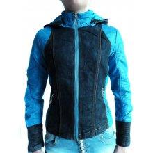 Dámská bunda s riflovinou křivák BK2