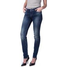 Mustang dámské jeansy Jasmin slim tmavě modré e53d2bbde0