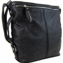 Velká dámská crossbody kabelka Audrey černá