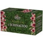 Grešík Zel. čaj s echinaceou n.s. 20 x 1.5 g