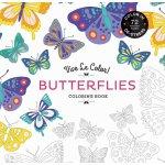 Vive Le Color! Butterflies Coloring Book