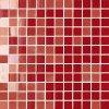 NovaBell Mosaico Lustro Chili - obkládačka mozaika 30 x 30 červená