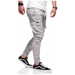 Pánské džíny pánské kalhoty Jogger Chino RJ-3839 f7bf510095